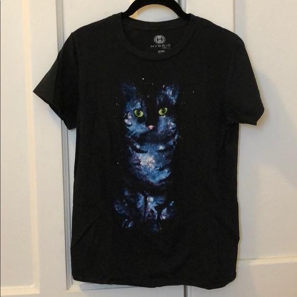 dc1ecfb5c1c7 Vintage Tops | New Style Cotton Galaxy Space Cat Tshirt | Poshmark